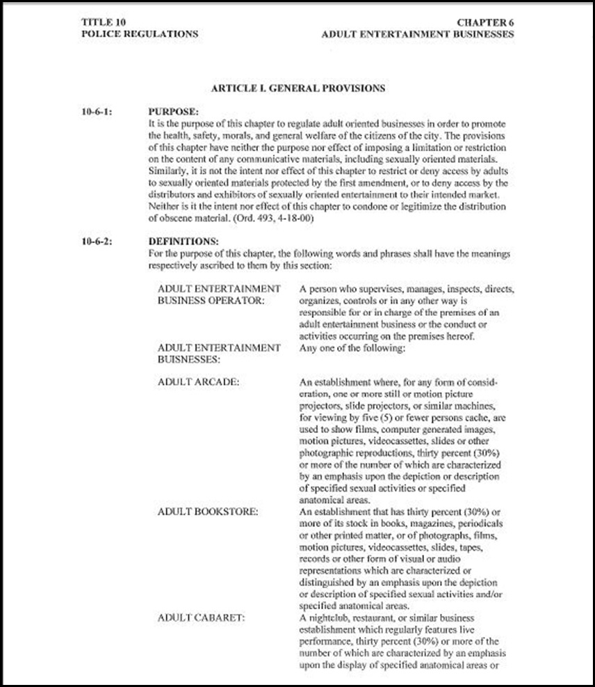 Police Regulations Page 2