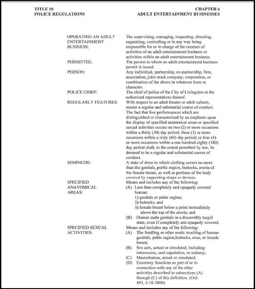 Police Regulations Page 5
