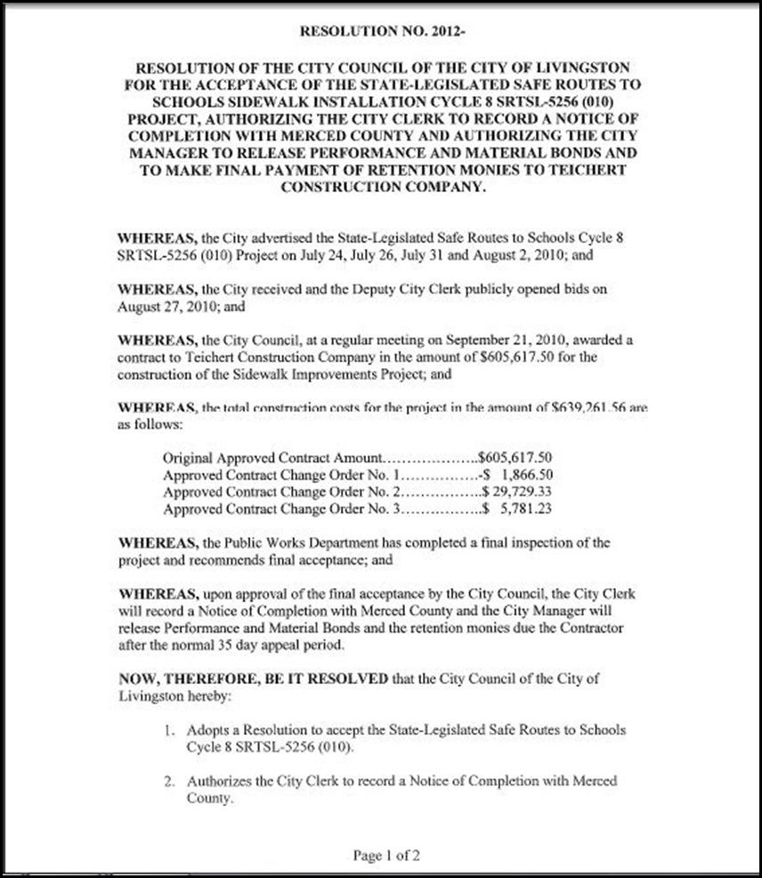 Sidewalks Cycle 8 - Page 3-1