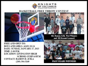 01272013 Knights of Columbus Free Throw Contest