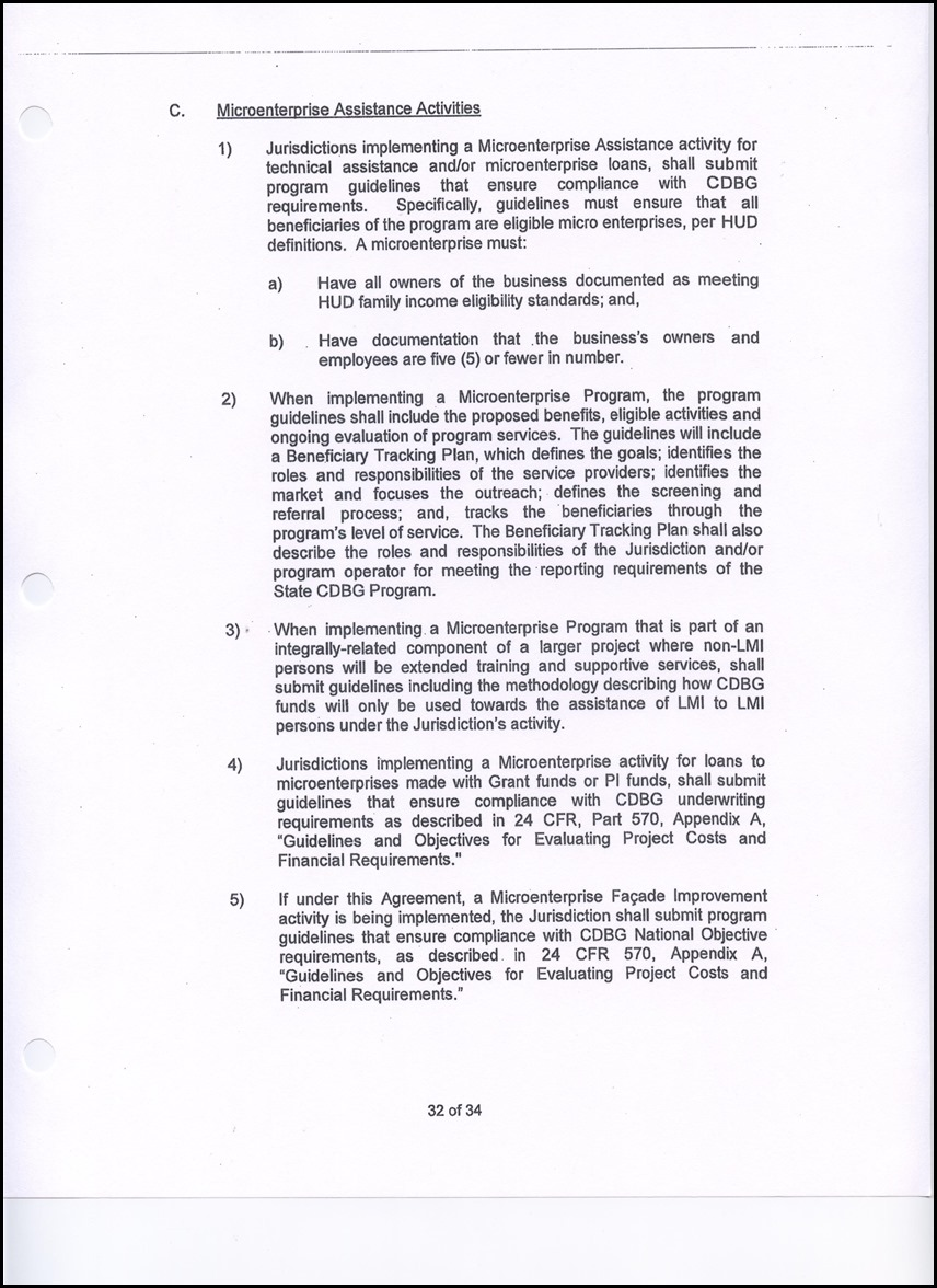 2. Resolution Approving the Community Development Block Grant (CDBG ...