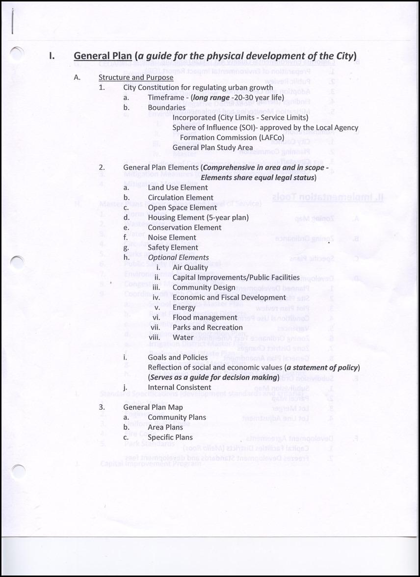 General Plan Page 1