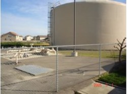 Livingston Water Storage Tank