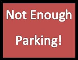 Not Enough Parking
