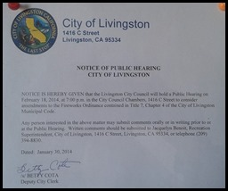 Amendments to the Fireworks Ordinance Cropped