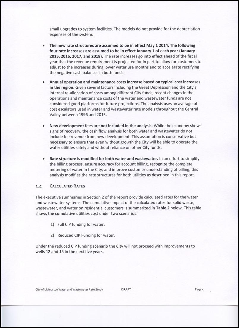 Page 4-5 Major Assumptions