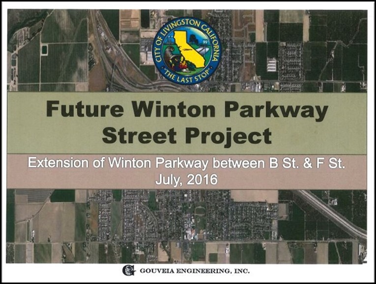 Future Winton Parkway Extension