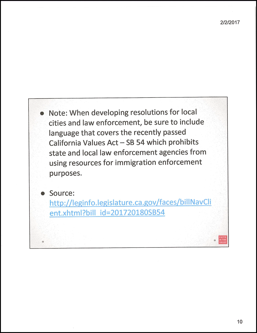 6 PowerPoint Presentation on Sanctuary Cities, by Crissy