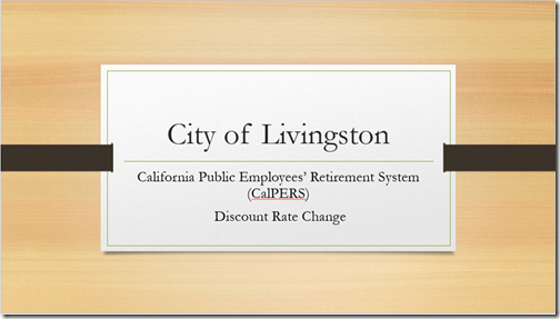 CalPers Presentation